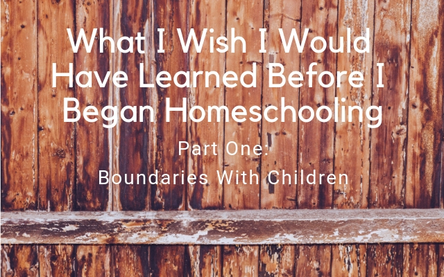boundaries, fence, homeschooling